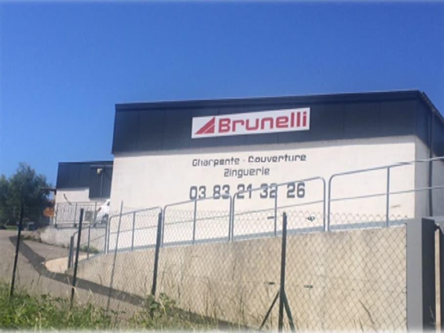 Local Brunelli : couvreur zingeur Nancy